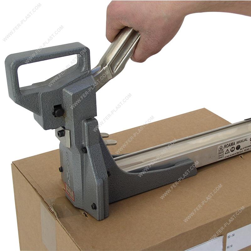 Graffatrice manuale per chiusura cartoni