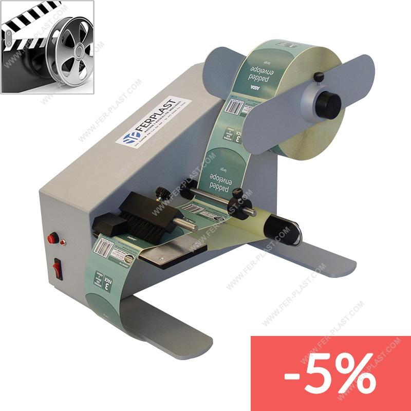 Distributore automatico di etichette 4-140 mm Automatic Label Dispenser etichettatrice con conteggio automatico 0-999999 per etichette autoadesive codici a barre ecc