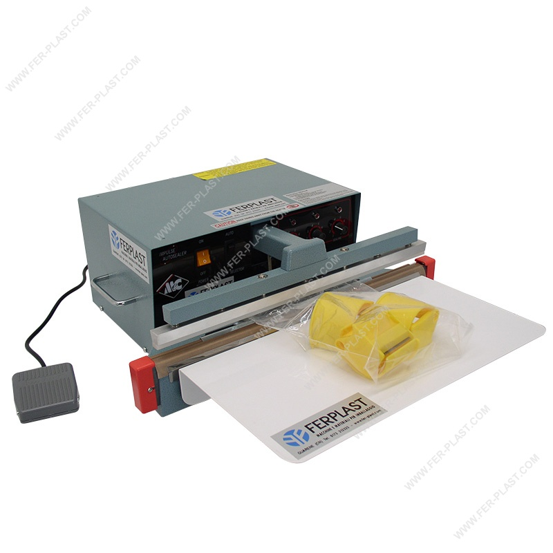 Footpedal for polyethylene : IMPULSE SEALER ME-AI WITH FOOT PEDAL