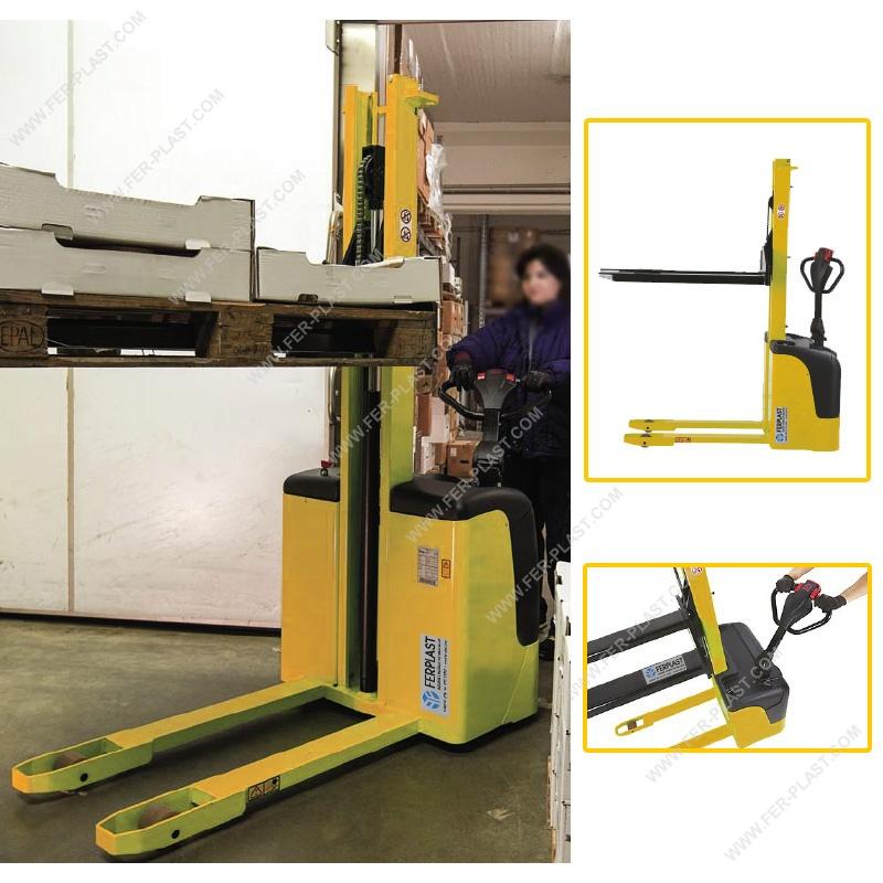 Elevadores para paletas : Elevador con carga automática FP-N