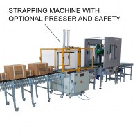 automatic strapping machine for packaging lines